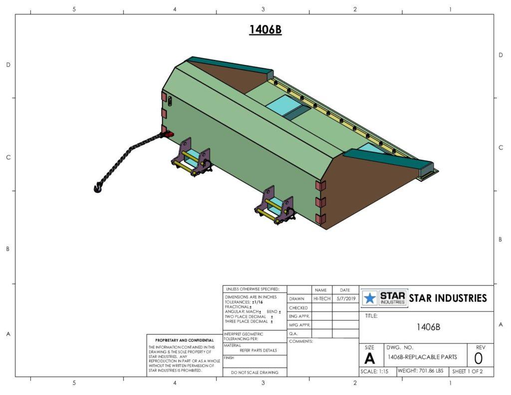 1406B - Replaceable Parts
