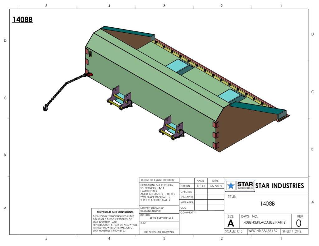 1408B - Replaceable Parts