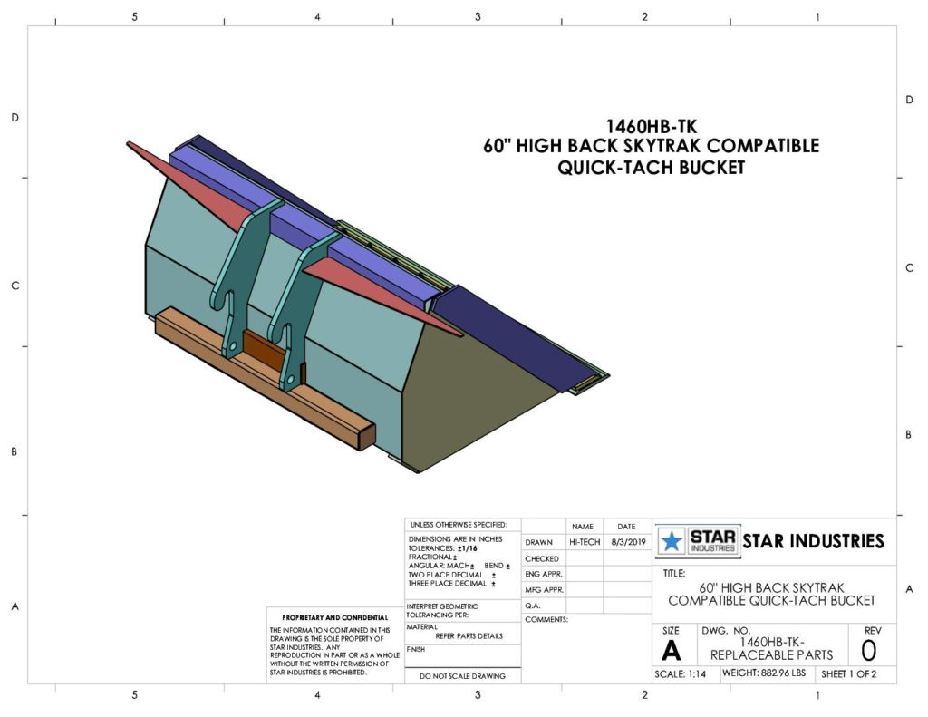 1460HB - Replaceable Parts
