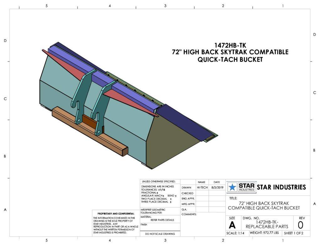 1472HB - Replaceable Parts