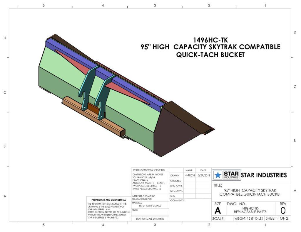 1496HC - Replaceable Parts