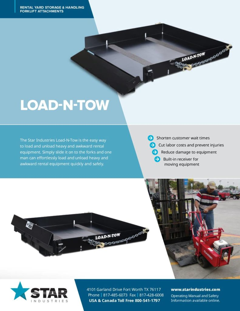 Load-N-Tow - Product Sheet