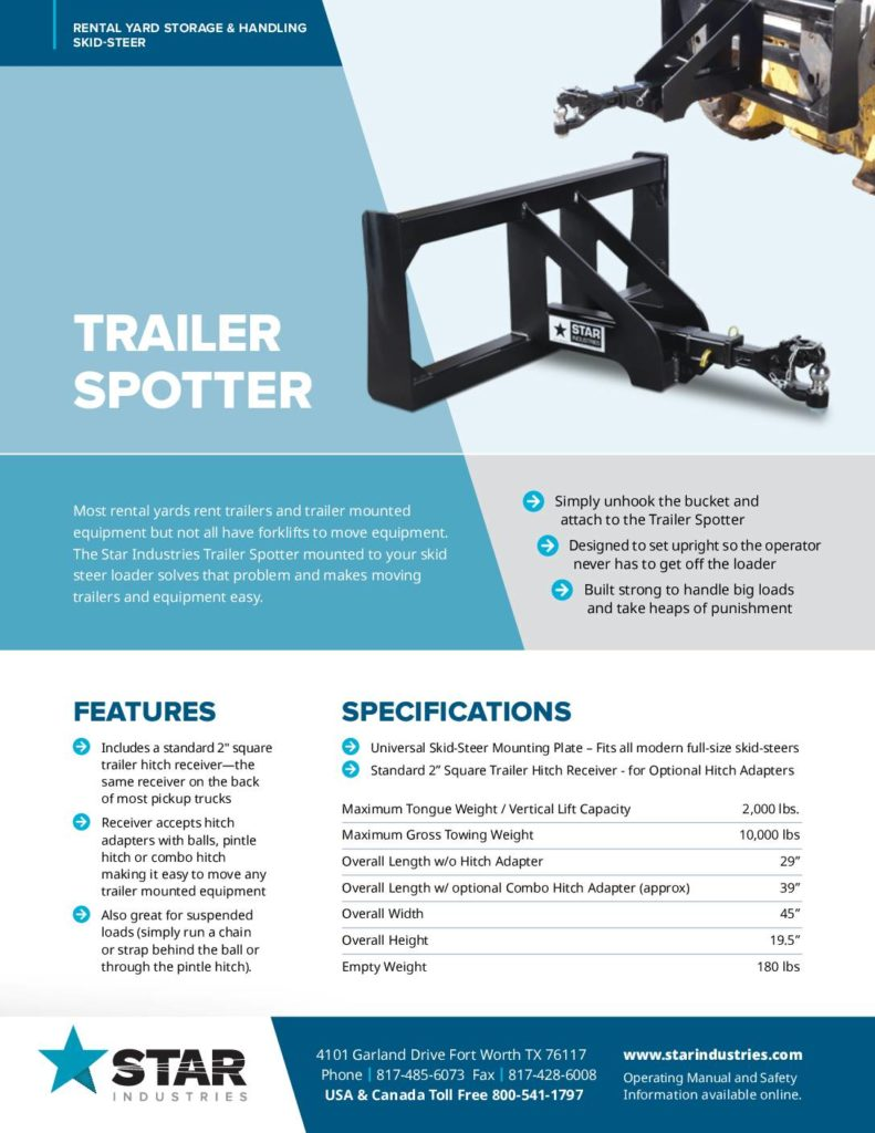 Trailer Spotter Product Sheet