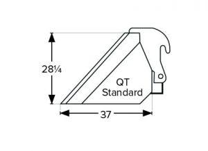 Heavy Duty Forklift Buckets QT Standard