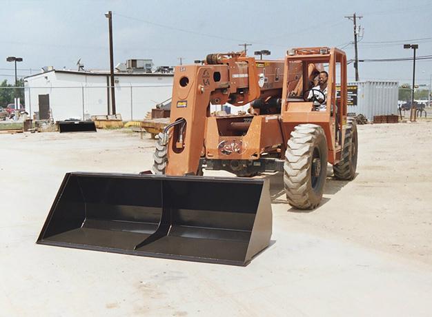 Forklift Bucket onsite