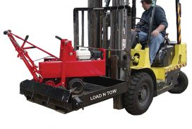 Load-N-Tow forklift attachment