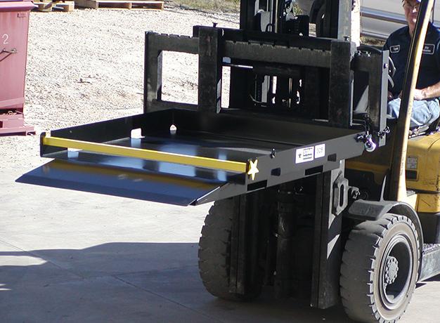 Safety Loading Platform in action