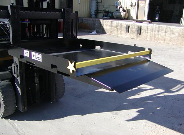 Safety Loading Platform on forklift