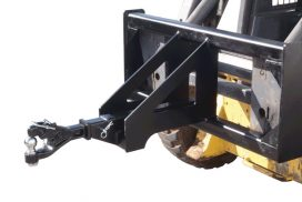 Use your forklift to move trailers and trailer mounted equipment