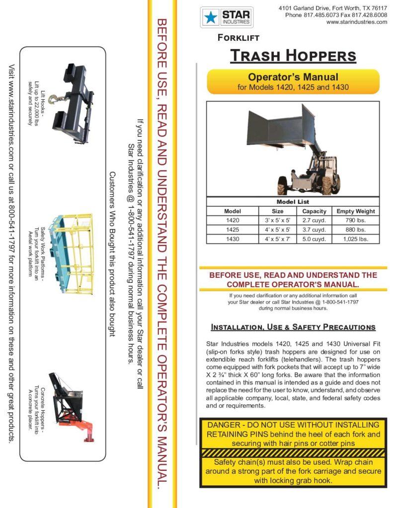 Trash Hopper - Manual