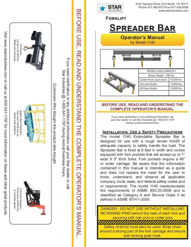 1140 - Operators Manual