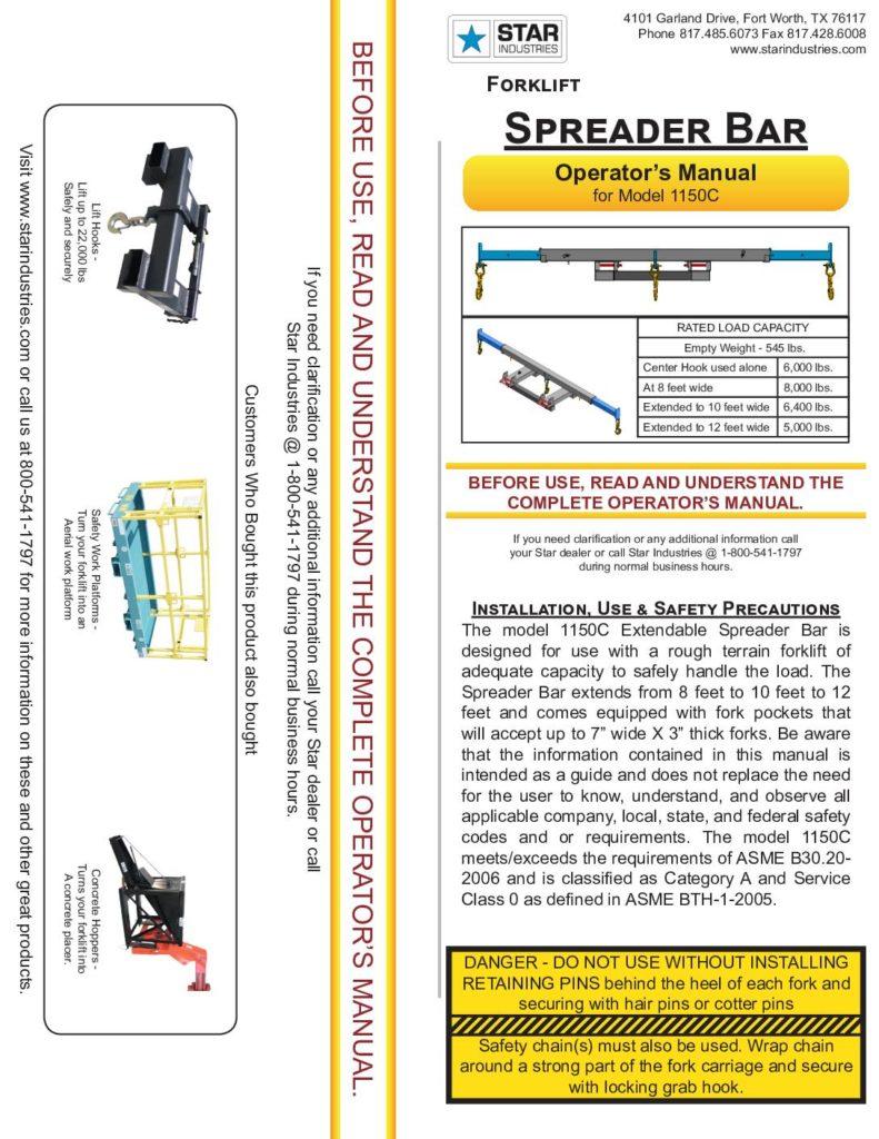 1150C - Operators Manual