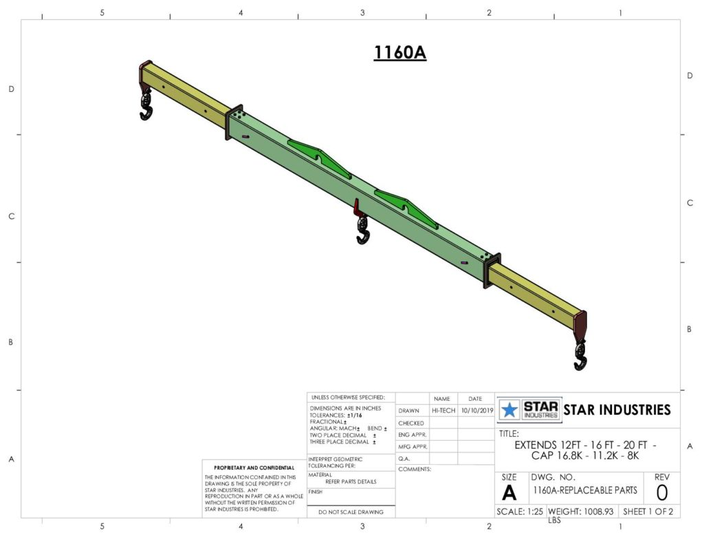1160A - Replacement Parts