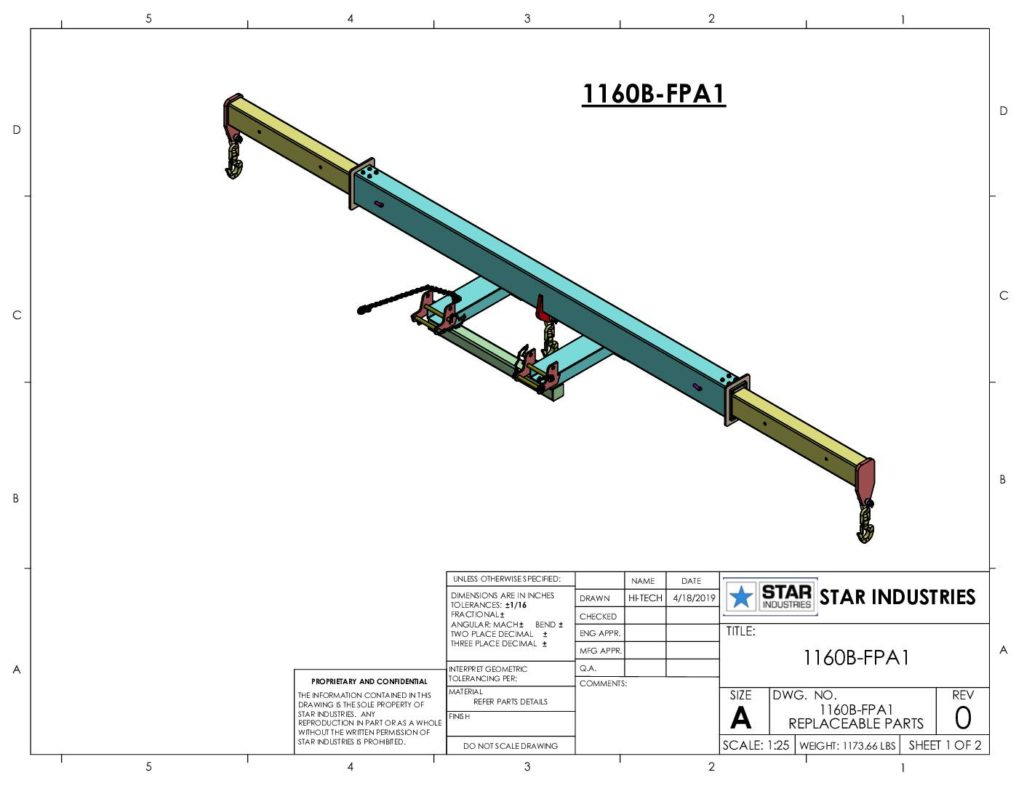 1160B - Replacement Parts