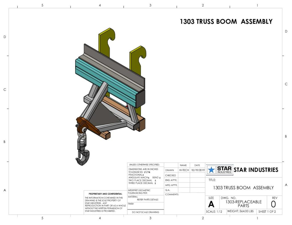 1303 - Replacement Parts