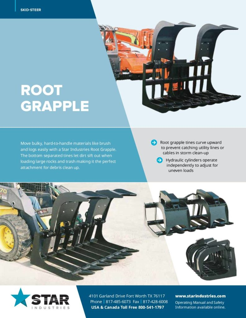 Root Grapple - Product Sheet