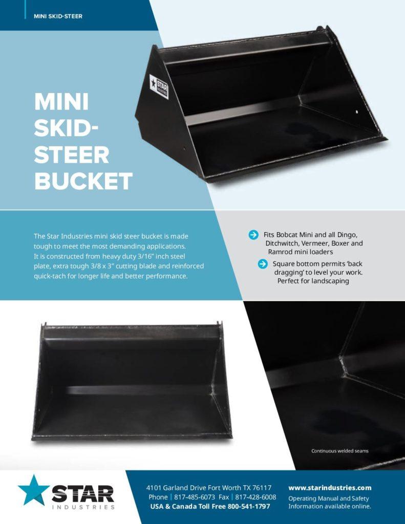 Mini Buckets - Product Sheet