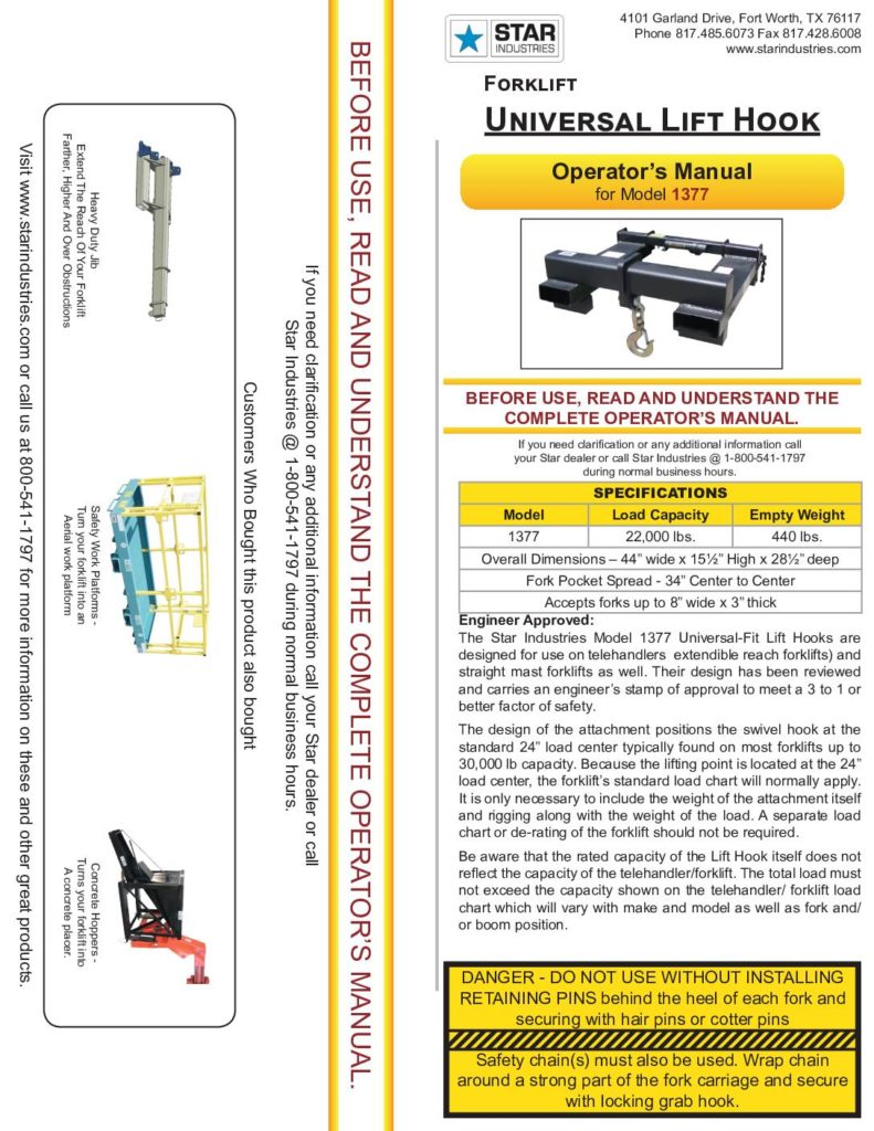 1377 - Operators Manual