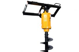Auger drive and frame