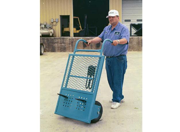 Brick Cart in use