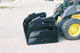 Grapple Bucket side view