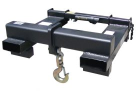 Universal Lift Hook includes heavy-duty swivel hook with latch and bolted anchor shackle