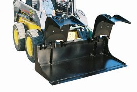 Grapple Bucket opens extra wide