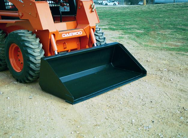 Skid-steer dirt bucket