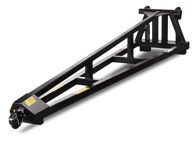 Low profile Truss Boom